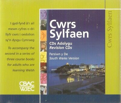 Elin Meek - Cwrs Sylfaen: Learn Welsh Revision CDs (4xCD A/Book 2006) **NEW** • 4.99£