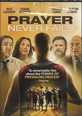 Prayer Never Fails DVD, 2017, Corbin Bernsen ,Lorenzo Lamas, Sealed • 3.45£