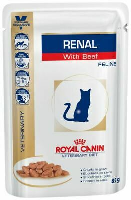 | Royal Canin Renal Feline With Veal 12 X  85 Gr • 37.39£