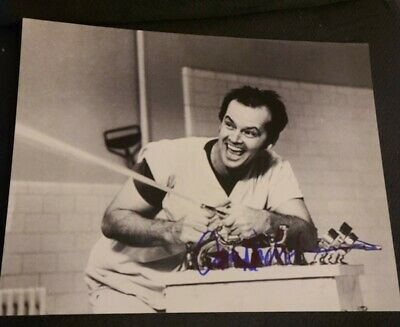 £543.24 • Buy Jack Nicholson Signed 11x14 Photo One Flew Over The Cuckoo's Nest Wcoa+proof Wow
