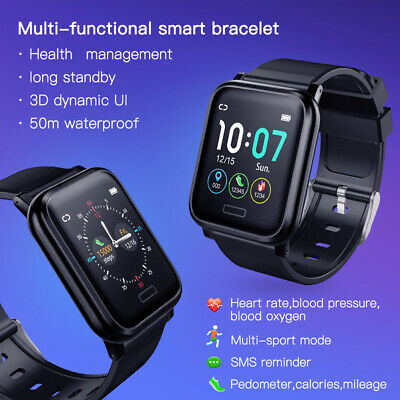 AU35.85 • Buy L8starB1 Smart Band 1.3 Inch Heart Rate Monitor 60 Day Standby Smart Bracelet