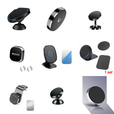 $3.91 • Buy Magnetic Car Phone Holder Stand Mount Cradle For Cell Phone IPhone GPS Accessory