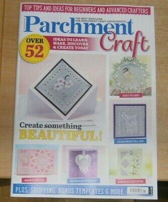 Parchment Craft Magazine Jan/Feb 2021 52 Ideas Create Something Beautiful • 9.99£