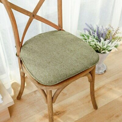 AU17.43 • Buy Foam Chair Cushion Seat Pad Soft Tie On Dining Office Pillow Mat Strap