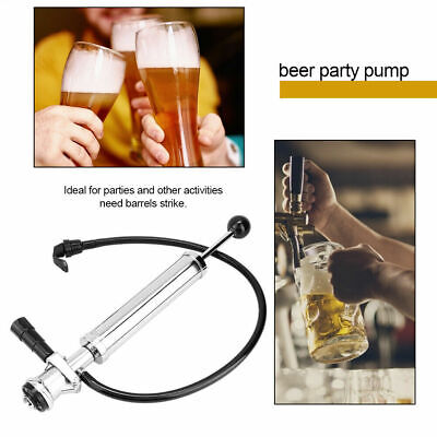 8 Inch D-System Heavy Duty Beer Pump Beer Keg Tap Set Homebrewing Accessory New • 48.99£