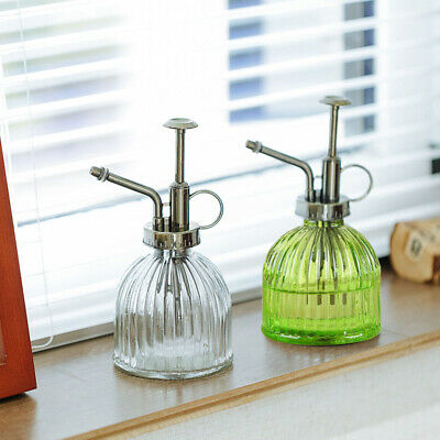 Retro Glass Plant Spray Bottle Gardening Pot Watering Can Mister Flower Garden  • 7.05£