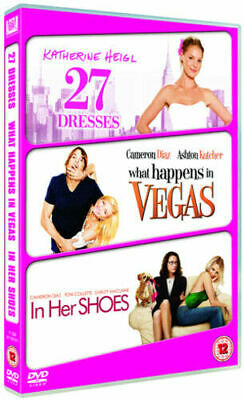 27 Dresses/What Happens In Vegas/In Her Shoes (DVD) (2009) (-) • 1.50£