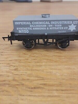 Dapol OO Gauge B731 ICI Rectangular Tank Wagon #50 Unused • 11.50£
