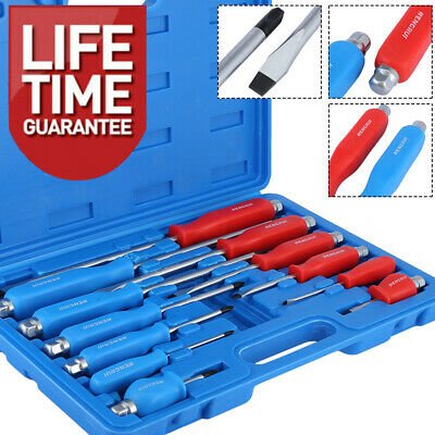 Magnetic Screwdriver Set HEAVY DUTY Philips & Slotted Go Through Drivers PH0-PH4 • 17.98£