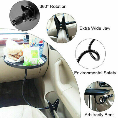 $23.59 • Buy 360° Swivel Car Able Cup Holder Drink Coffee Bottle Organizer Food Tray