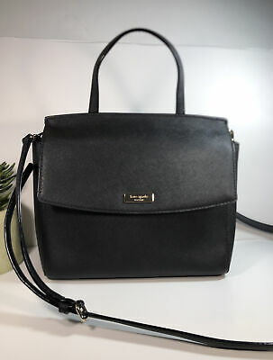 $ CDN81.33 • Buy Kate Spade Black Saffiano Purse  Bag W/ Crossbody Strap