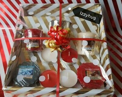 Yankee Candle Votive & Wax Melt Gift Set. Ideal For Christmas, Birthday Etc... • 9.99£