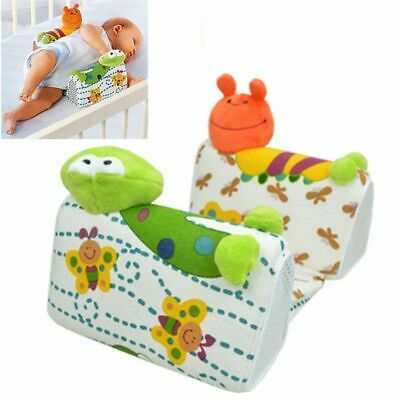 £16.98 • Buy Baby Anti Roll Pillow Newborn Infant Positioning Flat Head Support Wedge Cushion