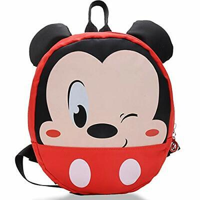 Mickey Mouse Backpack - WENTS Children's Schoolbag For Boy Girl Bag With Ears • 15.78£