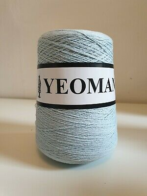 Yeoman Yarns Brittany 2-ply 100% Soft Matt Cotton, Colour - Harebell 71713 • 10£