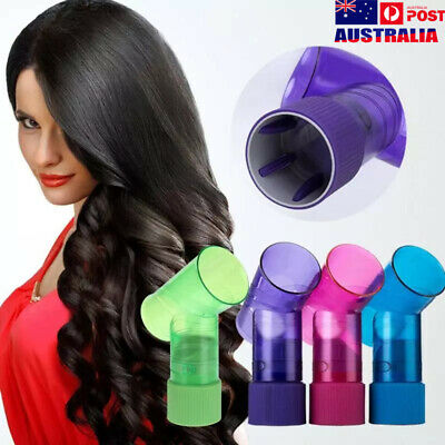 AU15.96 • Buy Hair Dryer Attachment Magic Curls Diffuser Wind Spin Roller Fast Dry & Easy AU