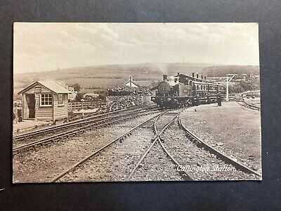 Callington Station Frith's Series Printed B&w Postcard • 3.28£