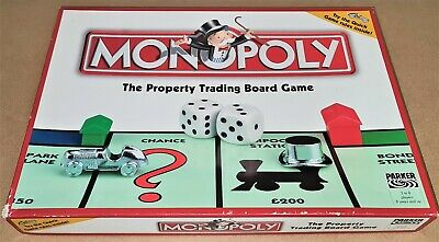 Parker Monopoly Original Board Game - Complete Boxed • 19.95£