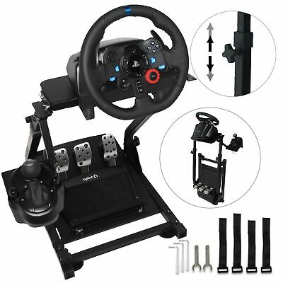 Racing Simulator Steering Wheel ONLY STAND For Logitech G29 Thrustmaster T300RS • 127.40£