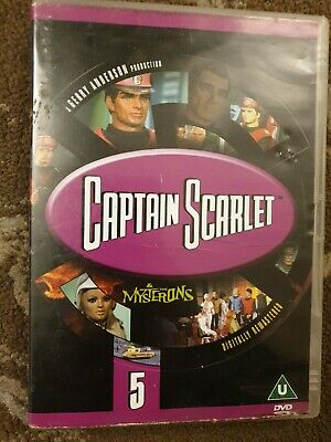 Captain Scarlet And The Mysterons Volume 5 Dvd Kids Retro 8 Episodes • 12.99£
