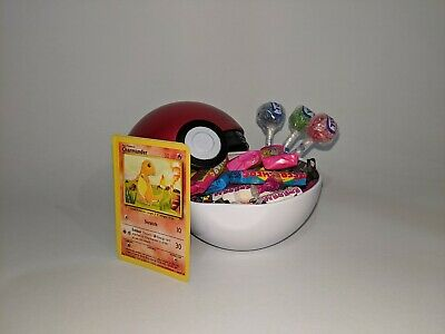 Pokeball Mystery Sweet Tin With Cards! • 10.20£