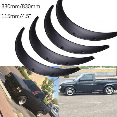 $55.50 • Buy 4X 4.5  110mm Car Fender Flares Extra Wide Body Kit Wheel Arches For Ford F-150
