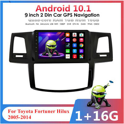 AU234.80 • Buy For 2005-14 Toyota Hilux 9'' Android 10.1 Stereo Radio GPS Navi Head Unit Player