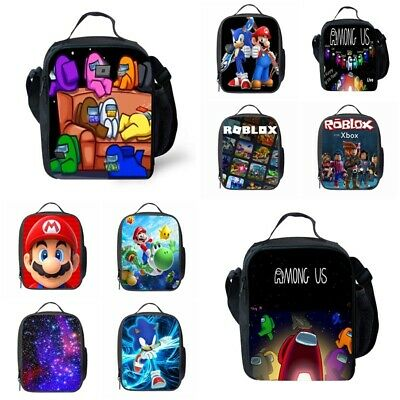 Kids Among Us Insulated Lunch Bag School Snack Box Travel Lunchbox Xmas Gifts UK • 8.49£