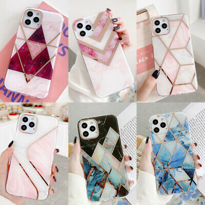 AU5.45 • Buy For IPhone 11 12 Pro Max XR XS X 8 7 Plus Marble Silicone Soft Phone Case Cover