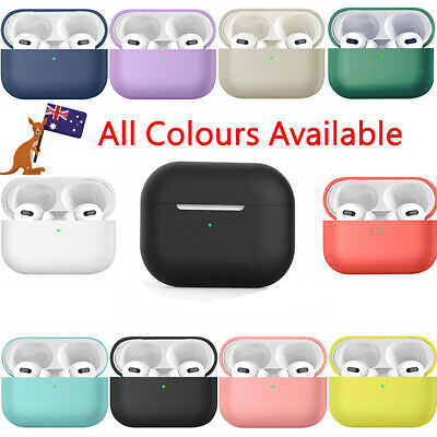 AU5.49 • Buy AirPods Pro Slim Ultra Thin Soft Premium Silicone Case Cover For Apple AirPod 3