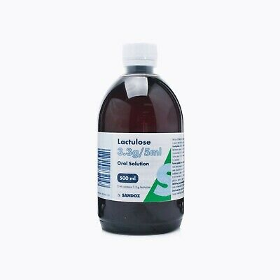 Lactulose Solution For Constipation And Discomfort - 500ml • 8.99£