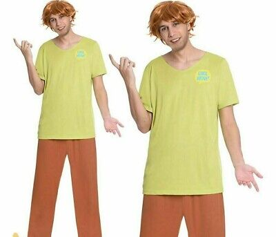£16.99 • Buy Adult Shaggy Costume Mens Scooby Doo Cartoon World Book Day Fancy Dress Outfit