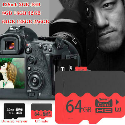 AU5.99 • Buy 2/4/8/16/32/64/128/256GB C10 TF Memory Card For Phone Camera Tablet Tachograph