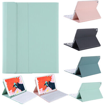 Luxury Wireless Bluetooth Keyboard Leather Smart Case Cover For Apple IPadAir4 • 32.39£