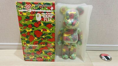 $1398.45 • Buy Difficult Get Started Undisplayed Bearbrick BE@RBRICK 400% Bape Play Psych Color