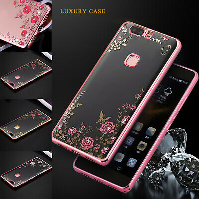 Case For Huawei P20 P10 P8 Lite Luxury Bling Glitter Shockproof Silicone Cover  • 1.99£