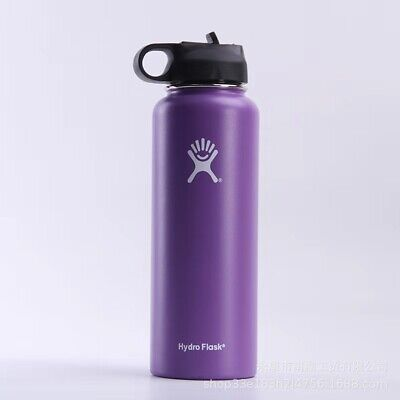 AU23.38 • Buy 1 Litre Stainless Steel Insulated Vacuum Flask Water Bottle Thermal Hydroflask