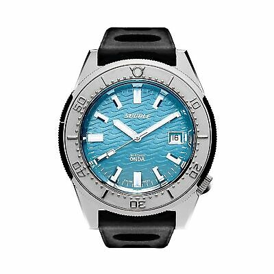 $ CDN1503.99 • Buy Squale 1521ODBL.NMT 500 Meter Swiss Automatic Dive Wristwatch Rubber