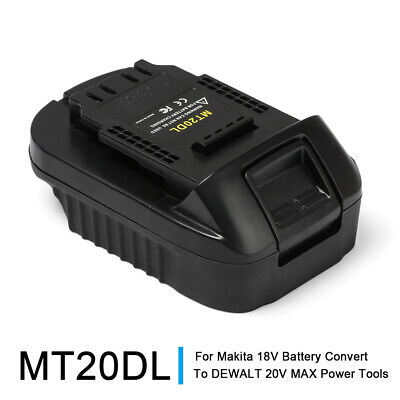 AU24.99 • Buy Portable Battery Adapter For Makita 18V Battery Convert To DEWALT Power Tools