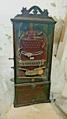 Rare! Antique Handan-Ni Ltd. Coin Operated Machine - Date:1913 • 2,650£