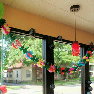 Xmas Colorful Hawaiian Luau Tropical Flower Garland Party Tropical  Decorations  • 3.30£