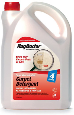 Rug Doctor Carpet Shampoo Cleaning Detergent Odour Neutralising - 2 Litre • 51.69£