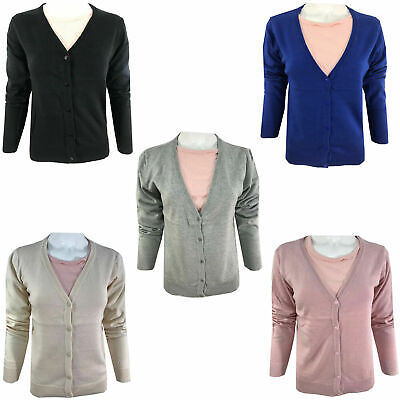 £7.40 • Buy Ladies Winter Cardigan Dress Long Sleeve Button Women Warm Knitted Knit Jumpers
