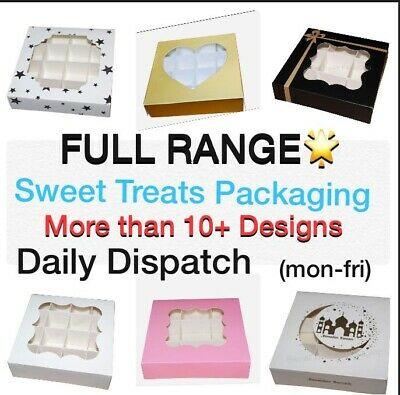FULL RANGE❗️Empty Pick And Mix Sweet Box With Window & Inserts⭐️1st CLASS POST⭐️ • 7.99£
