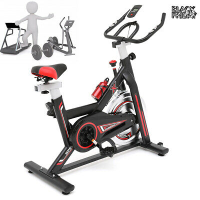 Exercise Spin Bike Bicycle Cycling Cardio Fitness Training Workout Home Gym Bike • 199.89£
