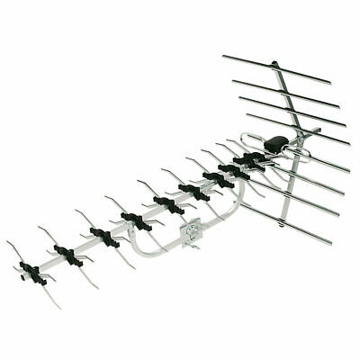 TV AERIAL HIGH GAIN 48-ELEMENT BY LABGEAR Suitable Outdoor Or Loft Installation • 34.95£