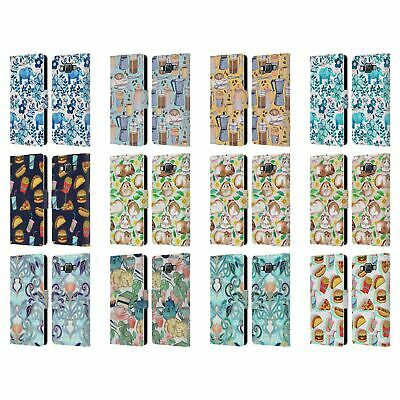 £17.46 • Buy Official Micklyn Le Feuvre Patterns 2 Leather Book Case For Samsung Phones 2