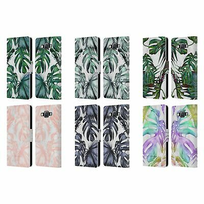 £17.46 • Buy Nature Magick Tropical Palm Leaves On Marble Leather Book Case For Samsung 2