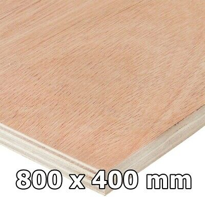 Hardwood Plywood Birch Alder Ply Sheets / Board Size 400 X 800 Mm FREE PP  • 26.99£