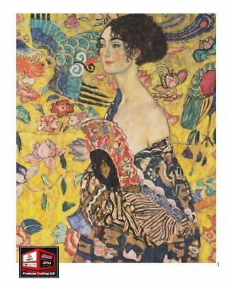 $ CDN31.78 • Buy New, Klimt Jigsaw Puzzle For Adults, Lady With Fan, 1000 Pieces *A-14.2oc2*